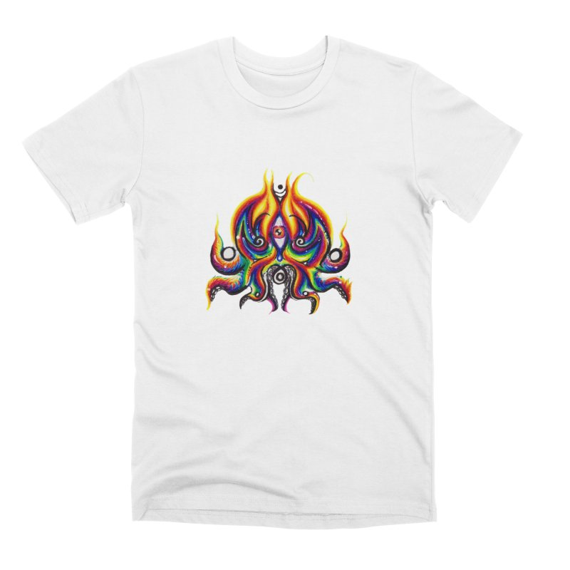 OktoSkull Men's Premium T-Shirt by Krakens Lair's Artist Shop