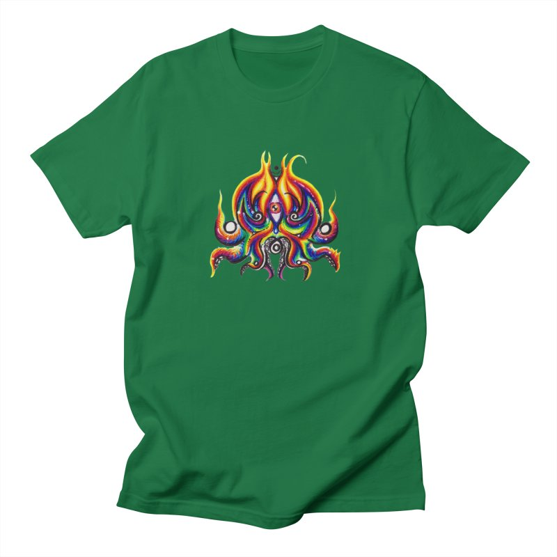OktoSkull Women's Regular Unisex T-Shirt by Krakens Lair's Artist Shop