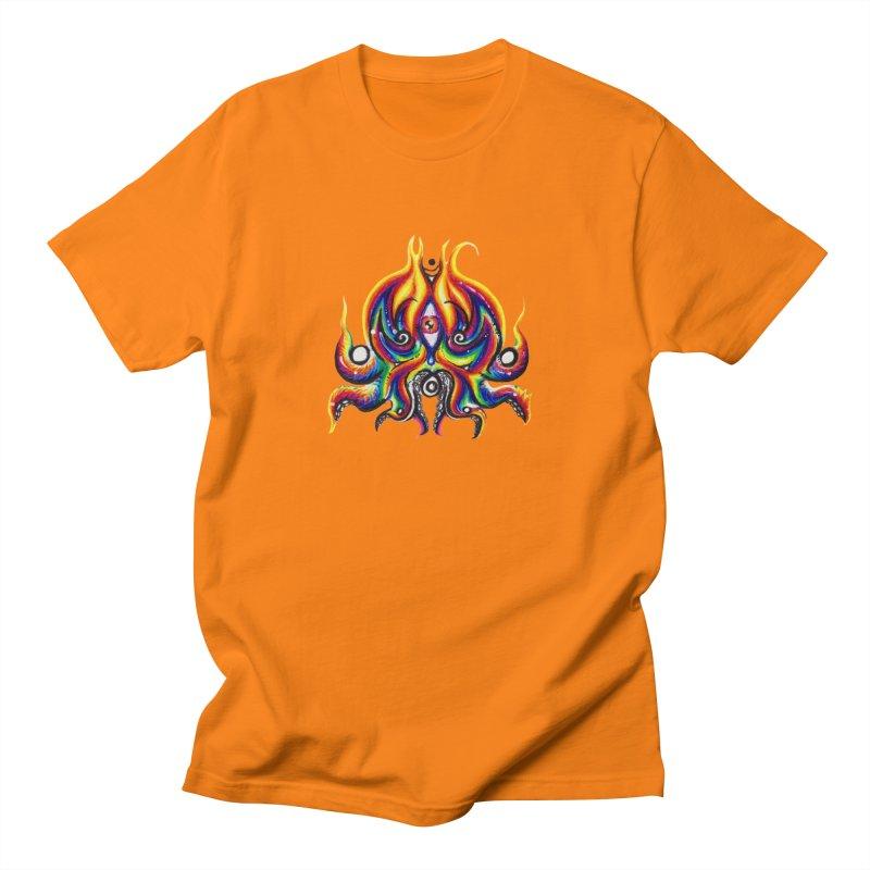 OktoSkull Men's Regular T-Shirt by Krakens Lair's Artist Shop