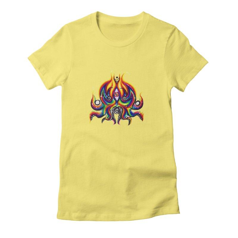 OktoSkull Women's T-Shirt by Krakens Lair's Artist Shop