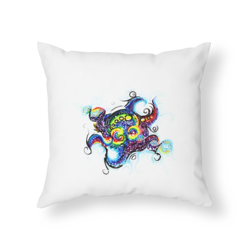 DNAoctopus Home Throw Pillow by Krakens Lair's Artist Shop