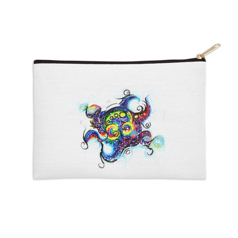DNAoctopus Accessories Zip Pouch by Krakens Lair's Artist Shop