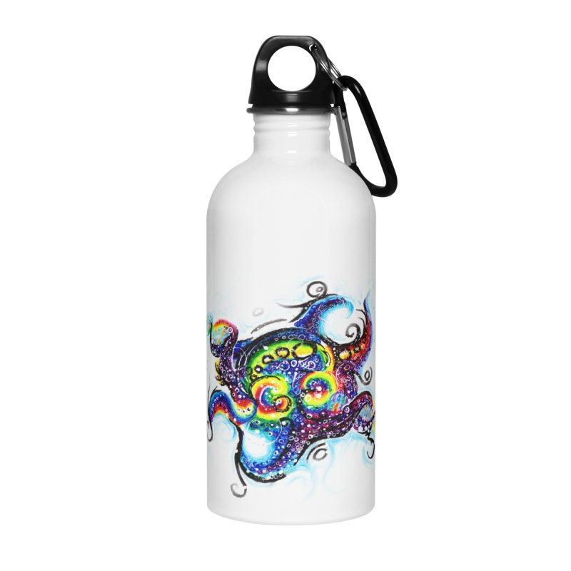 DNAoctopus Accessories Water Bottle by Krakens Lair's Artist Shop