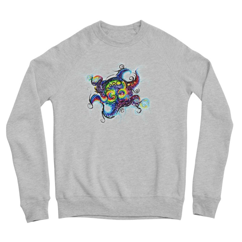 DNAoctopus Men's Sponge Fleece Sweatshirt by Krakens Lair's Artist Shop