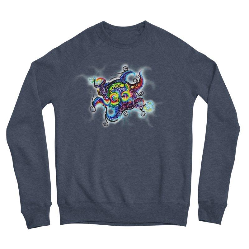 DNAoctopus Women's Sponge Fleece Sweatshirt by Krakens Lair's Artist Shop