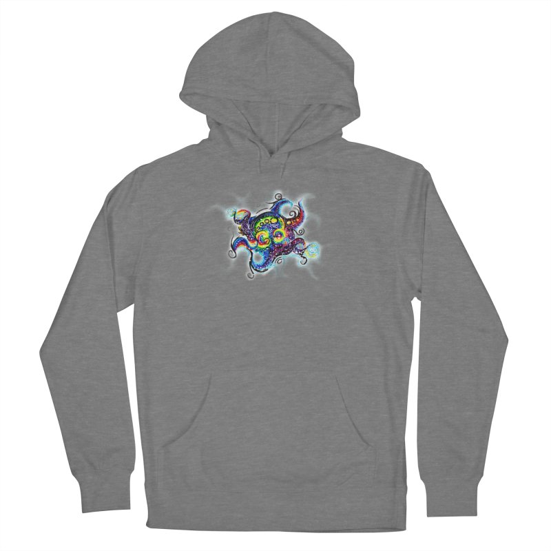 DNAoctopus Men's French Terry Pullover Hoody by Krakens Lair's Artist Shop