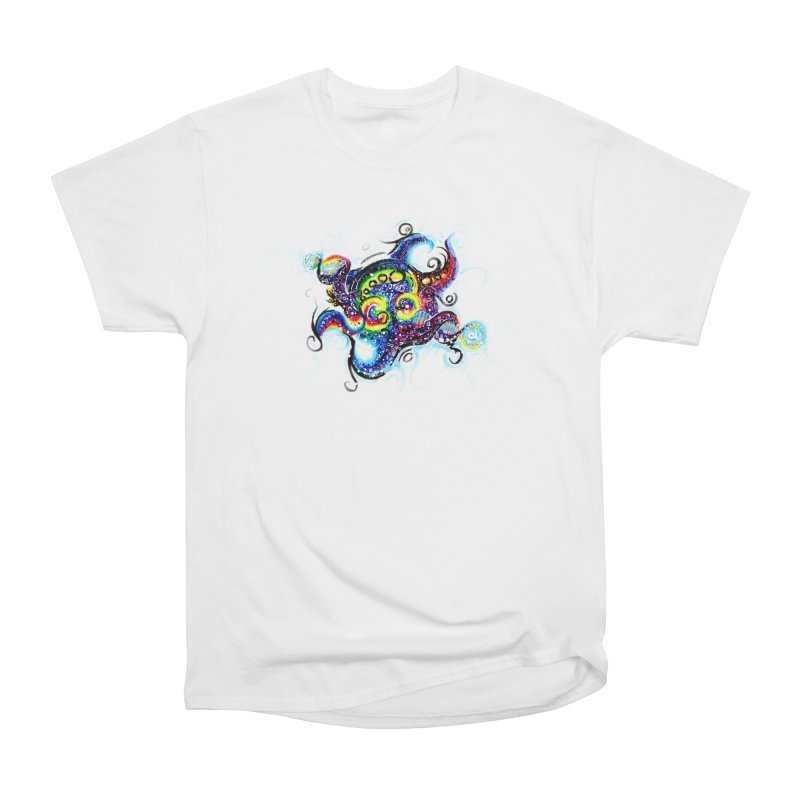DNAoctopus Men's Heavyweight T-Shirt by Krakens Lair's Artist Shop