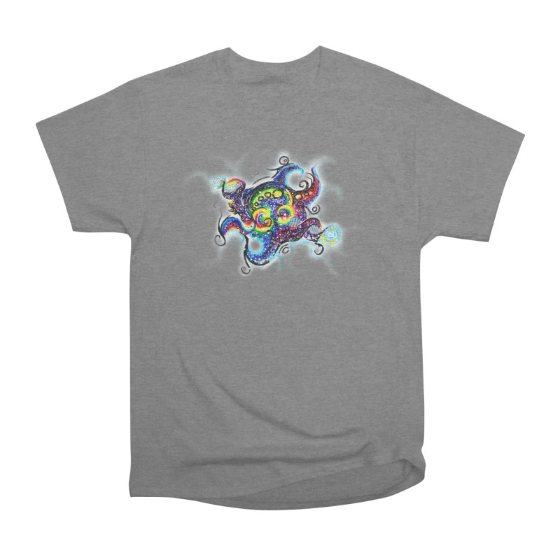 DNAoctopus Women's Heavyweight Unisex T-Shirt by Krakens Lair's Artist Shop