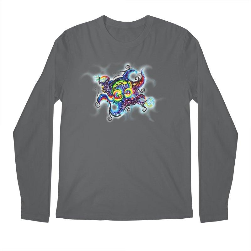 DNAoctopus Men's Regular Longsleeve T-Shirt by Krakens Lair's Artist Shop