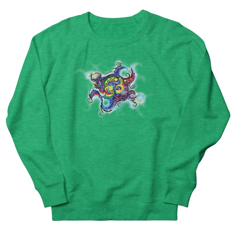 DNAoctopus Men's French Terry Sweatshirt by Krakens Lair's Artist Shop