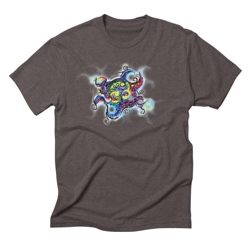 DNAoctopus Men's Triblend T-Shirt by Krakens Lair's Artist Shop