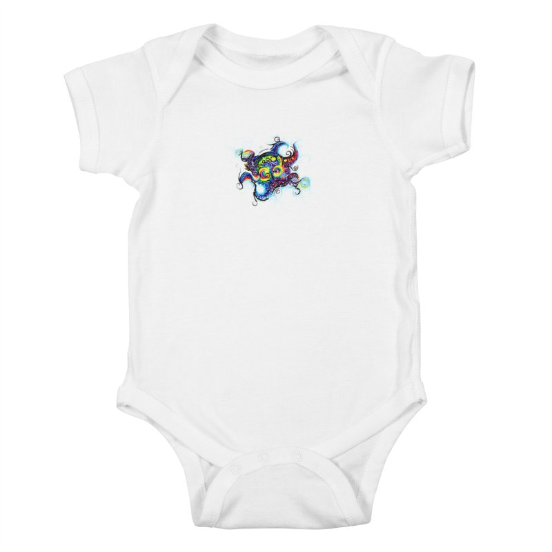 DNAoctopus Kids Baby Bodysuit by Krakens Lair's Artist Shop