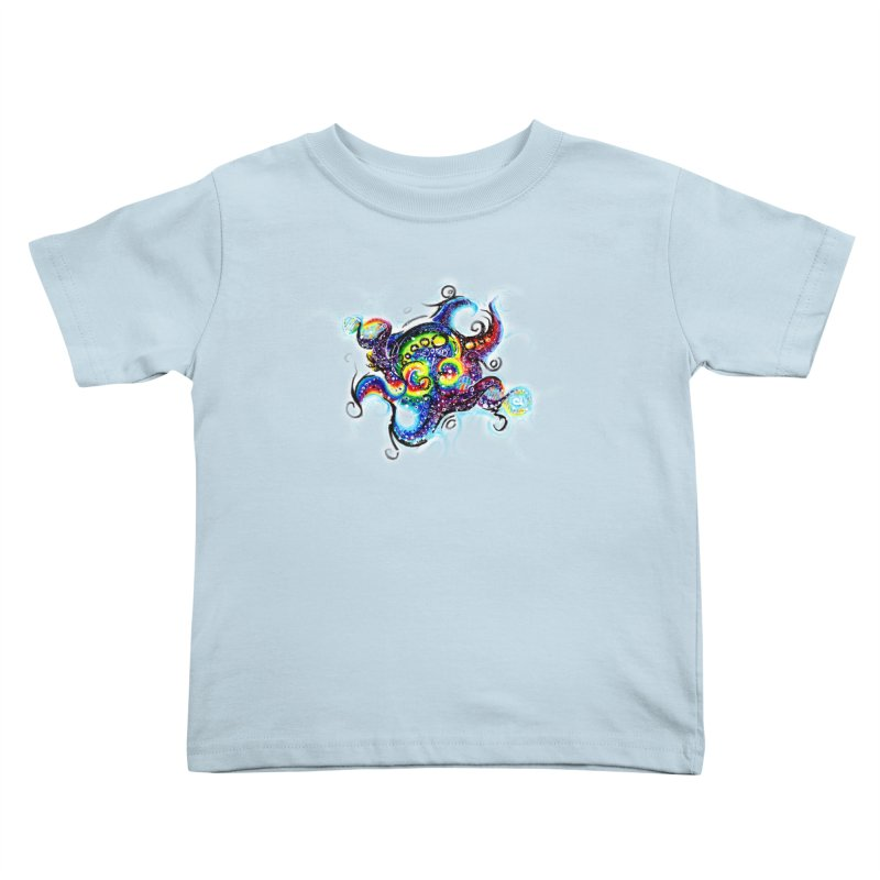 DNAoctopus Kids Toddler T-Shirt by Krakens Lair's Artist Shop