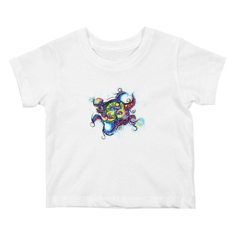 DNAoctopus Kids Baby T-Shirt by Krakens Lair's Artist Shop