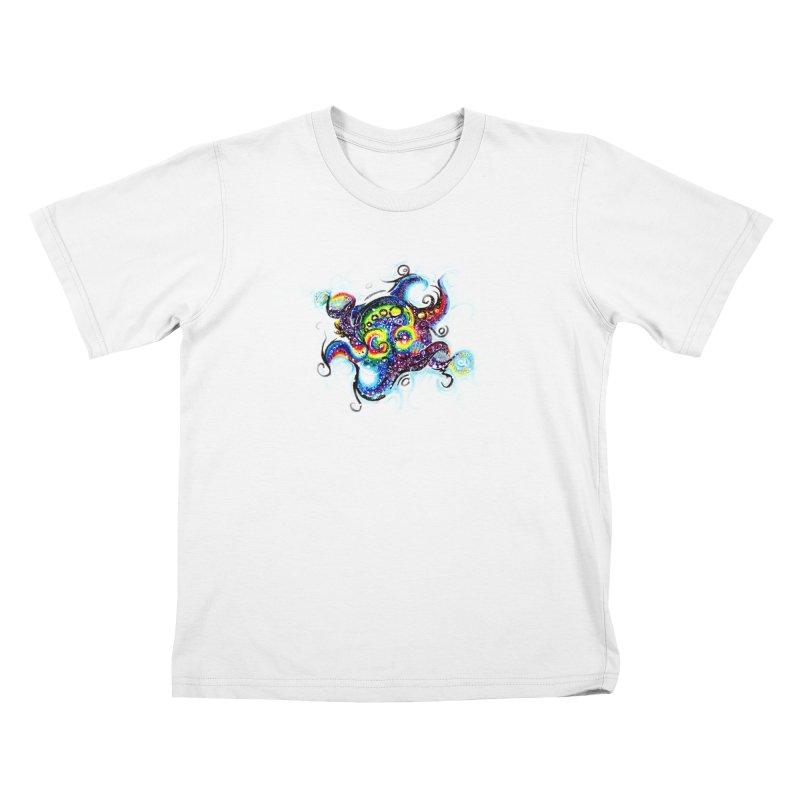 DNAoctopus Kids T-Shirt by Krakens Lair's Artist Shop