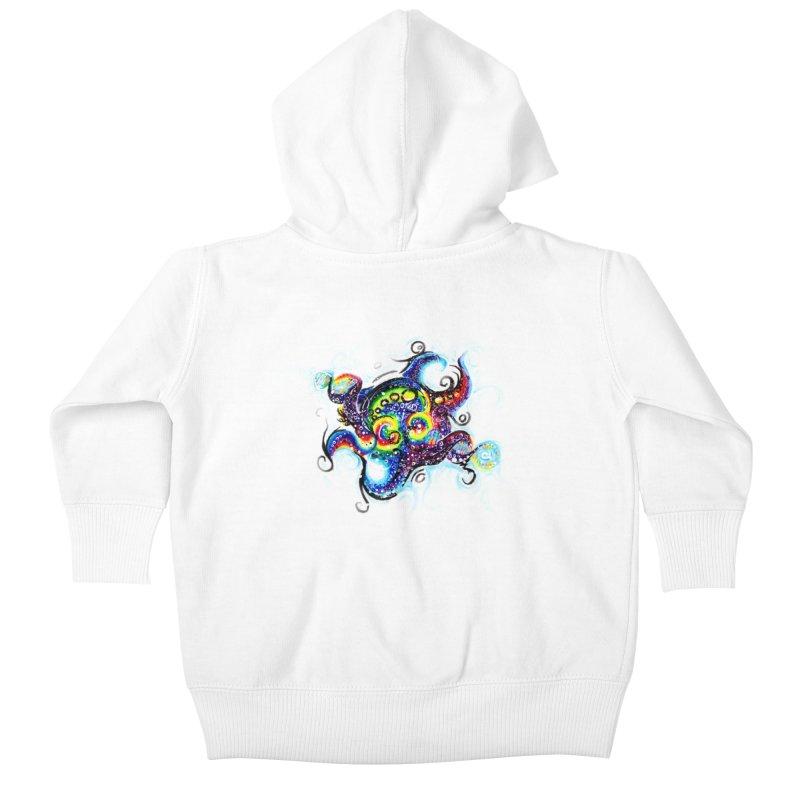DNAoctopus Kids Baby Zip-Up Hoody by Krakens Lair's Artist Shop