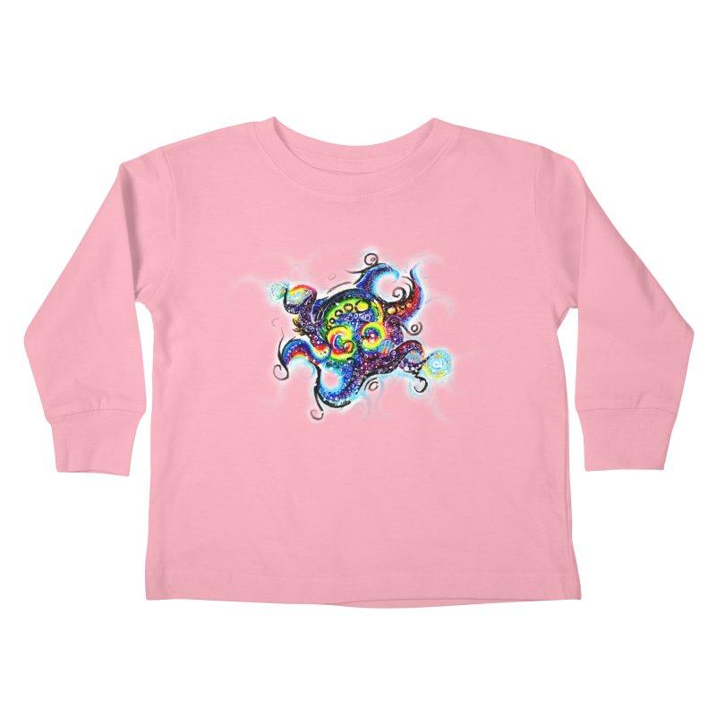 DNAoctopus Kids Toddler Longsleeve T-Shirt by Krakens Lair's Artist Shop