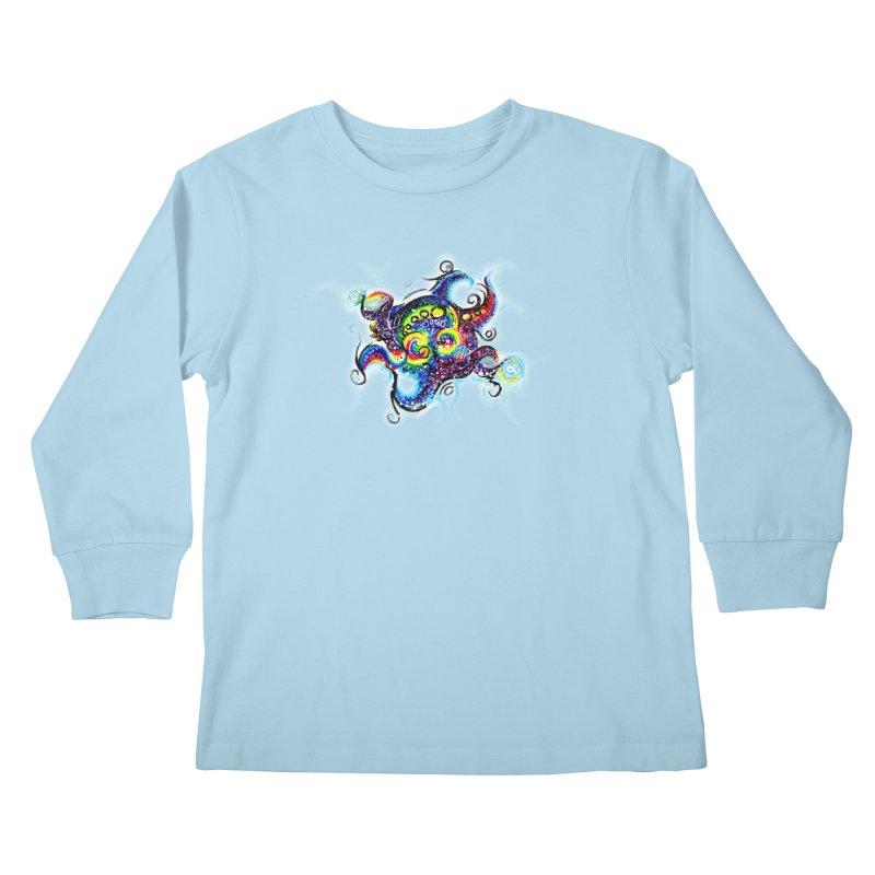 DNAoctopus Kids Longsleeve T-Shirt by Krakens Lair's Artist Shop