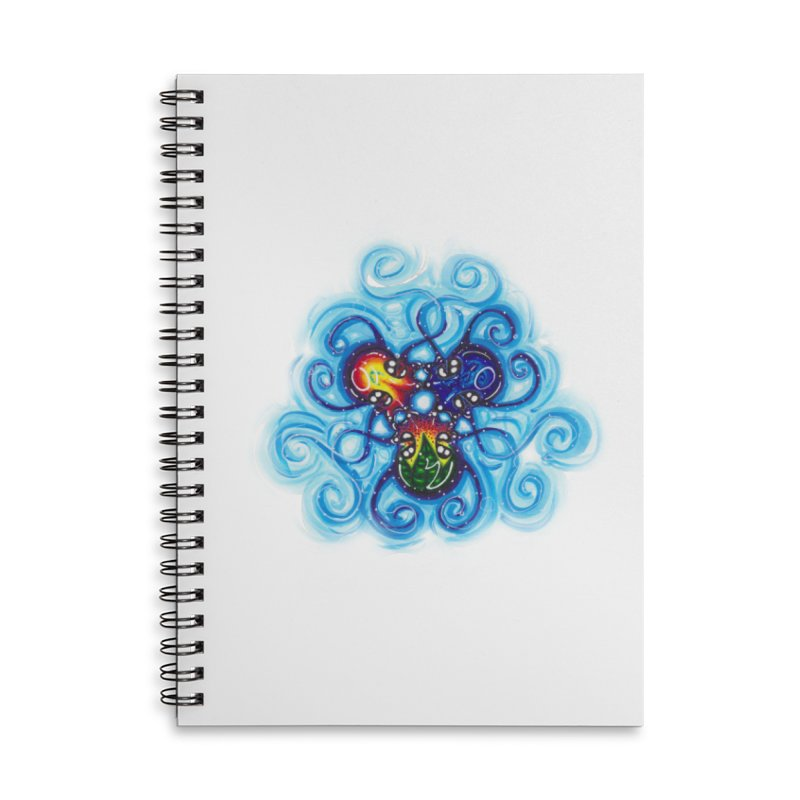 soulMates3 Accessories Lined Spiral Notebook by Krakens Lair's Artist Shop