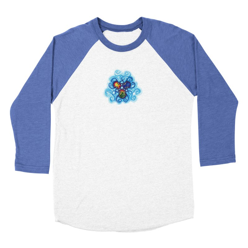 soulMates3 Men's Baseball Triblend Longsleeve T-Shirt by Krakens Lair's Artist Shop