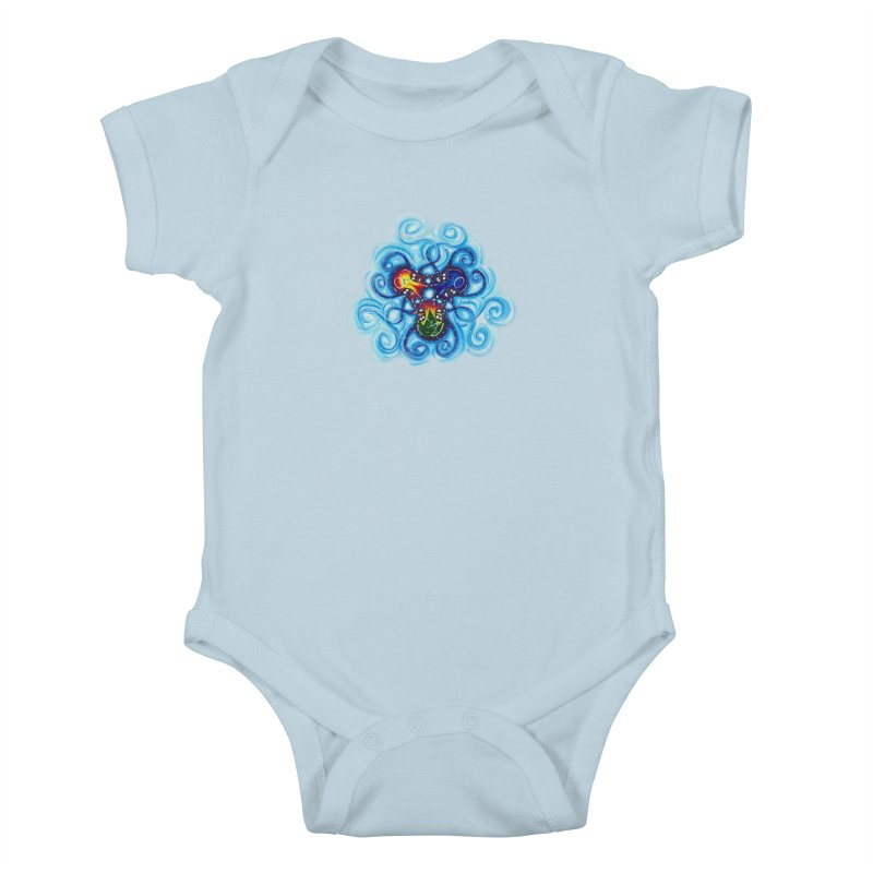 soulMates3 Kids Baby Bodysuit by Krakens Lair's Artist Shop