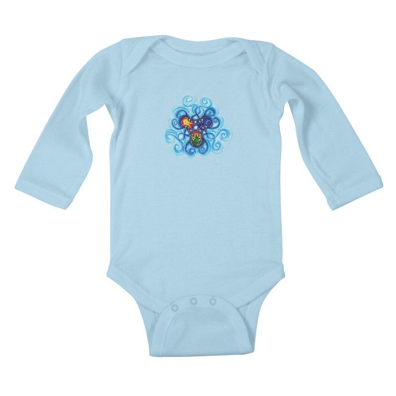 soulMates3 Kids Baby Longsleeve Bodysuit by Krakens Lair's Artist Shop