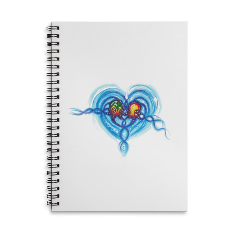 soulMates2 Accessories Lined Spiral Notebook by Krakens Lair's Artist Shop