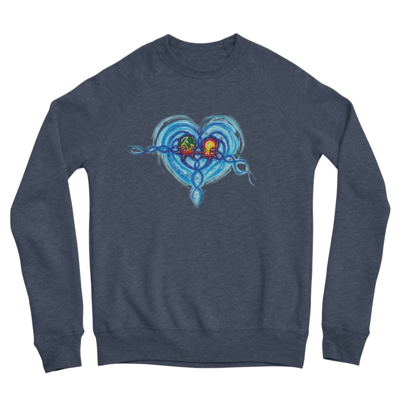soulMates2 Men's Sponge Fleece Sweatshirt by Krakens Lair's Artist Shop