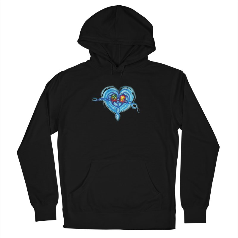 soulMates2 Men's French Terry Pullover Hoody by Krakens Lair's Artist Shop