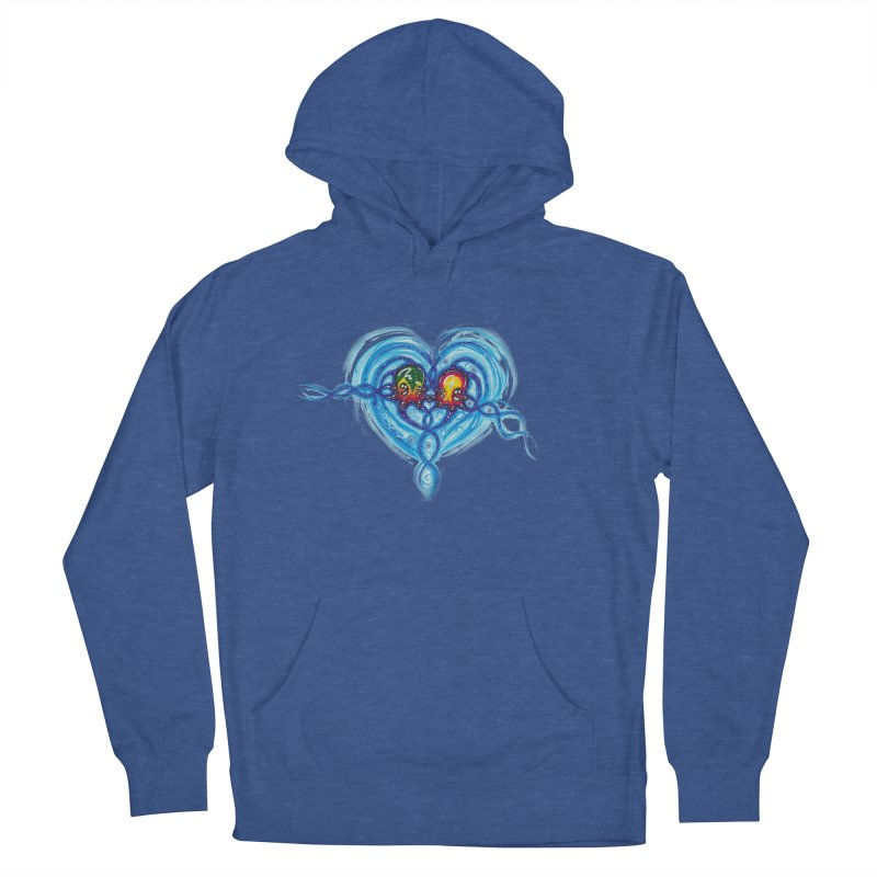 soulMates2 Women's French Terry Pullover Hoody by Krakens Lair's Artist Shop