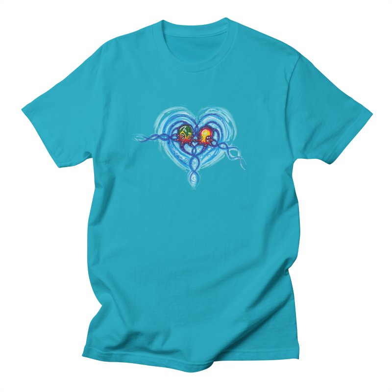 soulMates2 Men's Regular T-Shirt by Krakens Lair's Artist Shop
