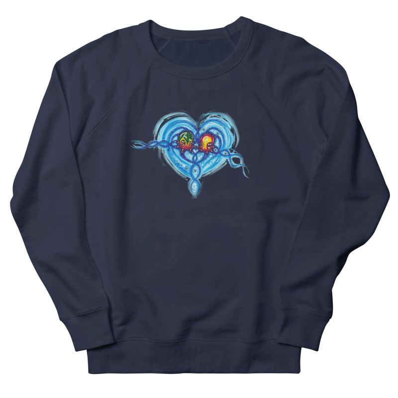 soulMates2 Men's French Terry Sweatshirt by Krakens Lair's Artist Shop