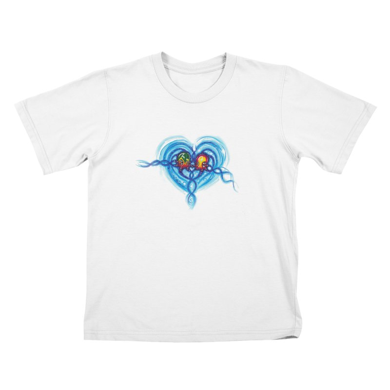 soulMates2 Kids T-Shirt by Krakens Lair's Artist Shop