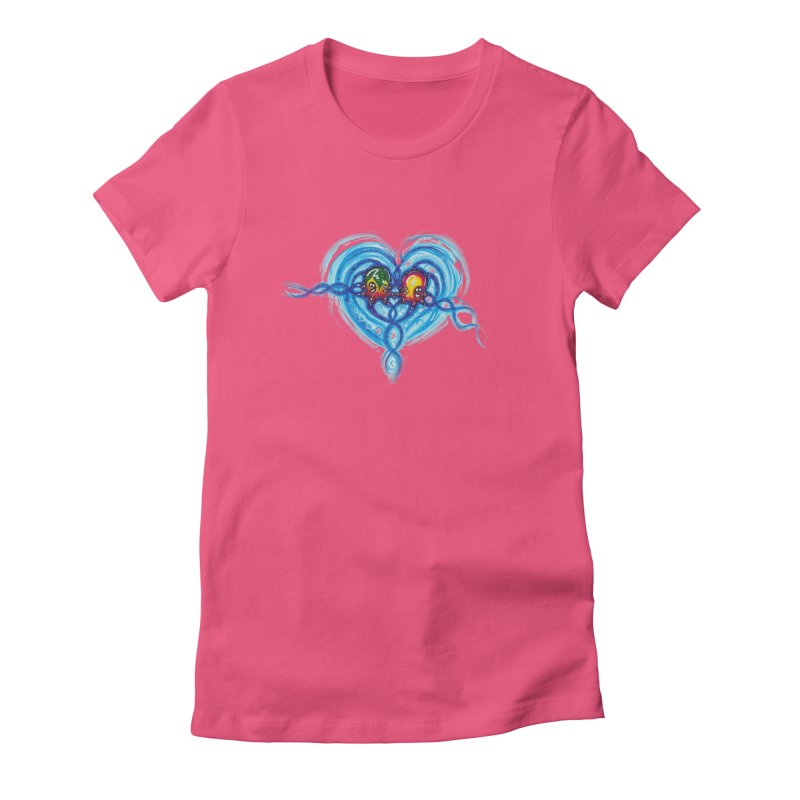 soulMates2 Women's Fitted T-Shirt by Krakens Lair's Artist Shop