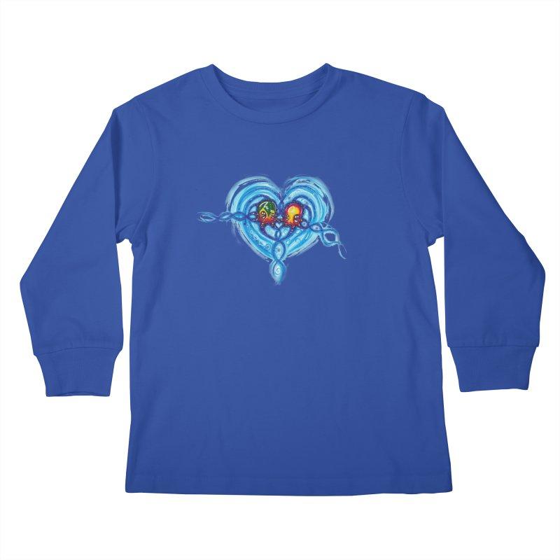 soulMates2 Kids Longsleeve T-Shirt by Krakens Lair's Artist Shop