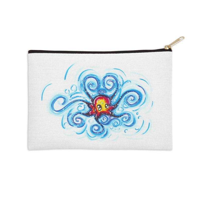 tinyOctopus Accessories Zip Pouch by Krakens Lair's Artist Shop
