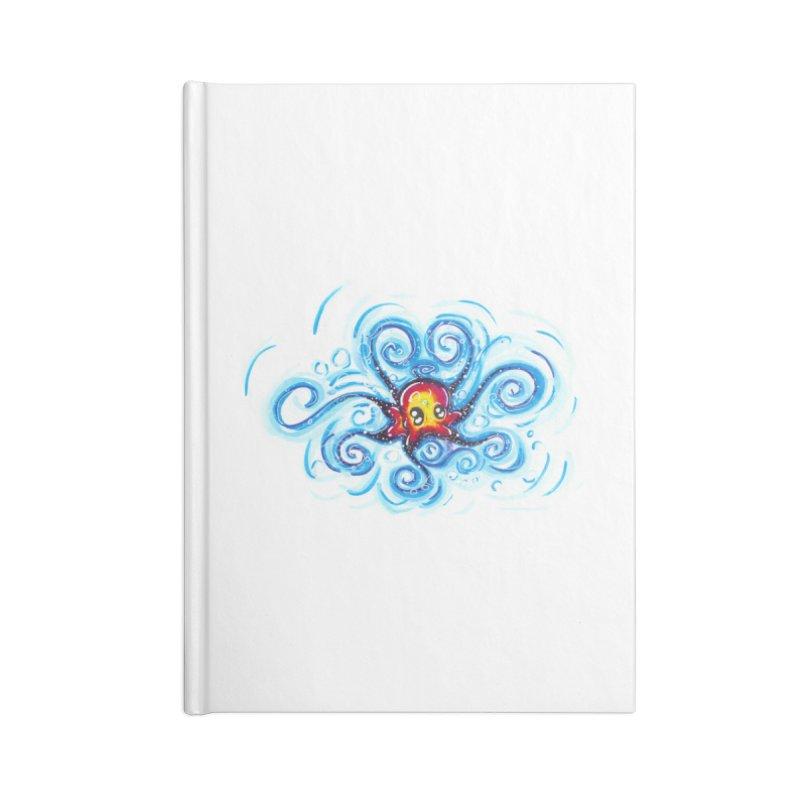 tinyOctopus Accessories Blank Journal Notebook by Krakens Lair's Artist Shop