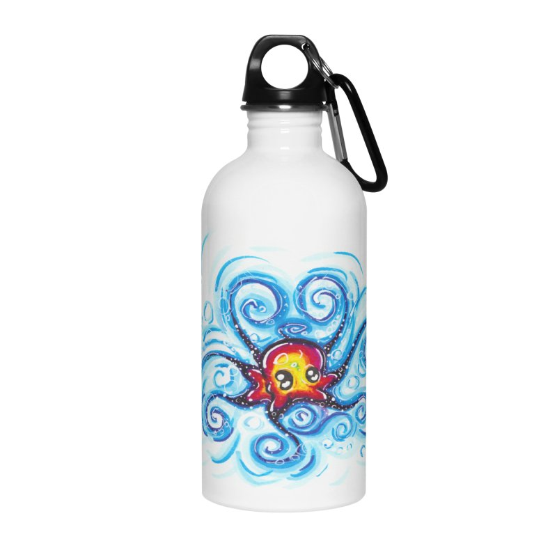 tinyOctopus Accessories Water Bottle by Krakens Lair's Artist Shop