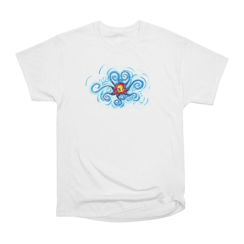 tinyOctopus Women's Heavyweight Unisex T-Shirt by Krakens Lair's Artist Shop