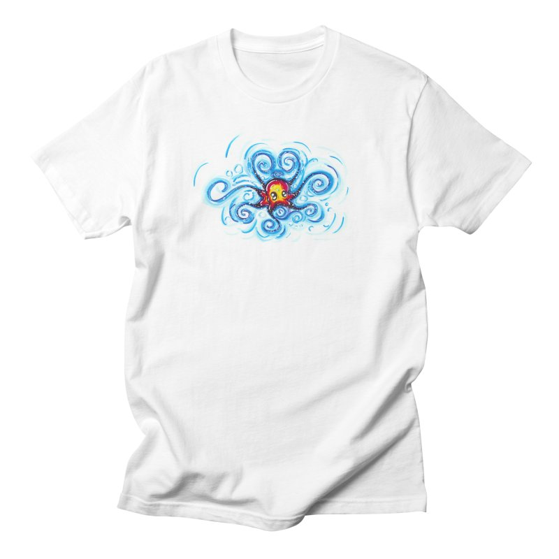 tinyOctopus Women's Regular Unisex T-Shirt by Krakens Lair's Artist Shop