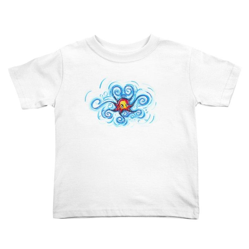 tinyOctopus Kids Toddler T-Shirt by Krakens Lair's Artist Shop
