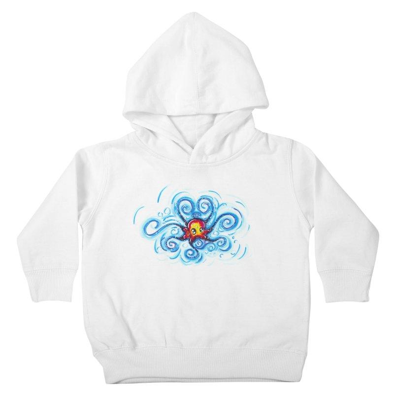 tinyOctopus Kids Toddler Pullover Hoody by Krakens Lair's Artist Shop
