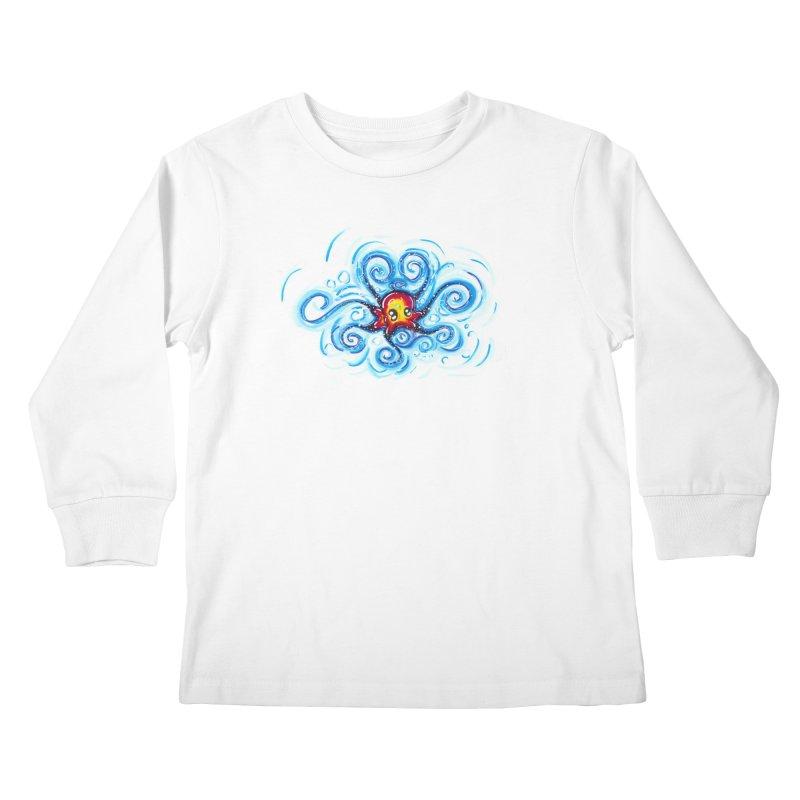 tinyOctopus Kids Longsleeve T-Shirt by Krakens Lair's Artist Shop