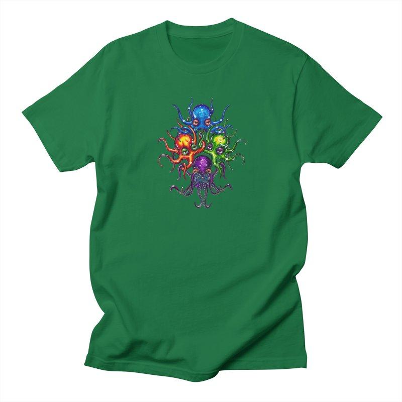octoTeam Men's T-Shirt by Krakens Lair's Artist Shop