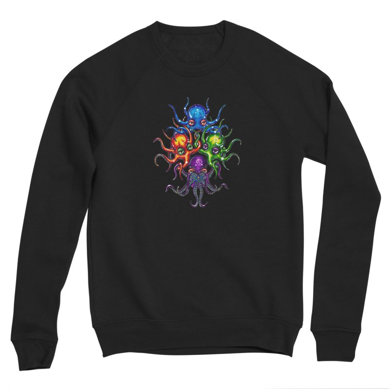 octoTeam Men's Sponge Fleece Sweatshirt by Krakens Lair's Artist Shop