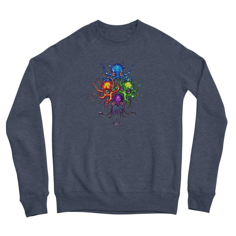 octoTeam Women's Sponge Fleece Sweatshirt by Krakens Lair's Artist Shop