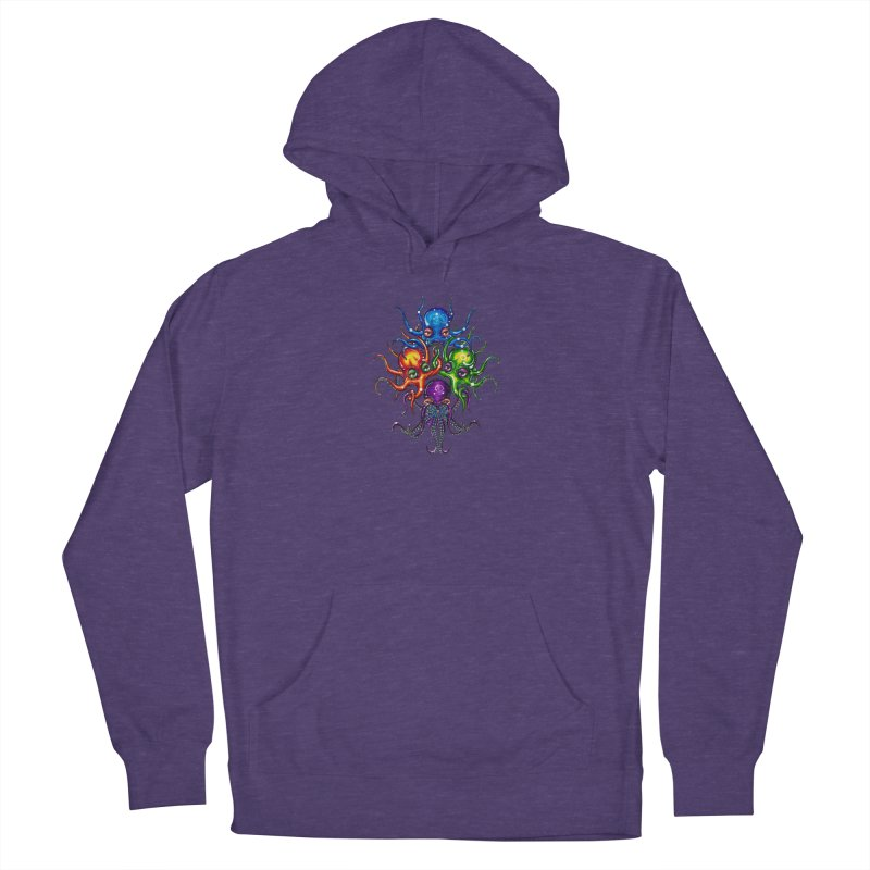 octoTeam Men's French Terry Pullover Hoody by Krakens Lair's Artist Shop