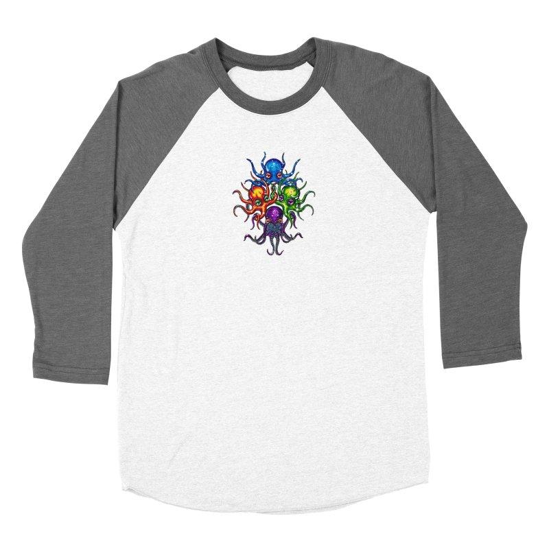 octoTeam Men's Baseball Triblend Longsleeve T-Shirt by Krakens Lair's Artist Shop