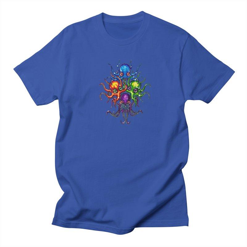 octoTeam Men's Regular T-Shirt by Krakens Lair's Artist Shop