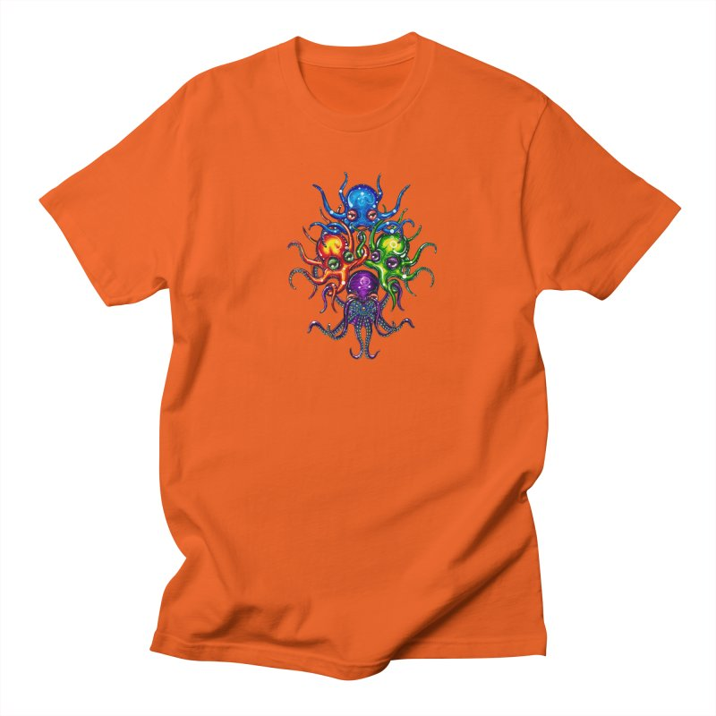 octoTeam Women's Regular Unisex T-Shirt by Krakens Lair's Artist Shop